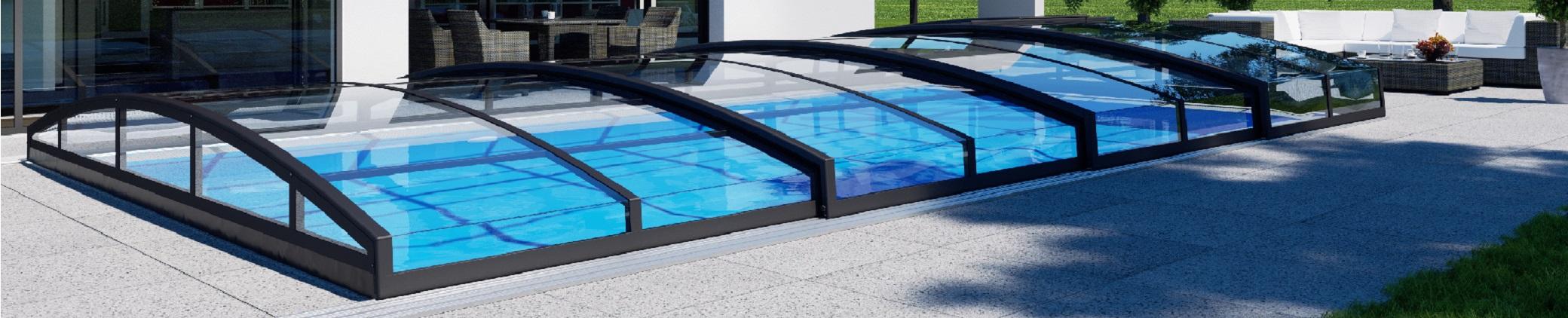 Cubrimiento de piscinas